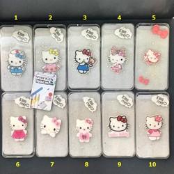 Ốp Lưng iPhone 7 Plus - 8 Plus Dẻo Trong Lưng Cứng Không Ố Vàng Hình Hello Kitty