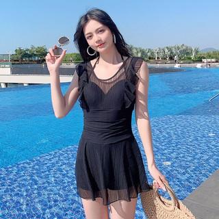 Bikini váy đen hở lưng -Bộ đồ bơi nữ sang chảnh quyến rũ - BBDFBDS thumbnail