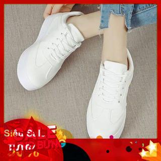 Giày thể thao sneaker nữ độn đế lót nâu phong cách Hàn Quốc - 4001102771 thumbnail