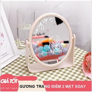Gương để bàn 2 mặt - Gương - Gương trang điểm để bàn thumbnail