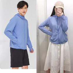 40-100kg áo khoác chống nắng nam nữ bigsize chống tia UV thông hơi có túi cuộn