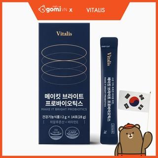 Men Vi Sinh Vitalis Make It Bright Probiotics (14 Gói) - Make It Bright thumbnail