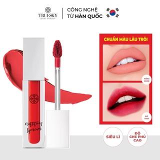 Son dưỡng môi Truesky màu hồng nhạt giúp môi hồng hào, giảm tình trạng thâm môi và nứt nẻ 3ml - Nutritious Lip Balm - T_SĐT thumbnail