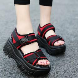 Giày sandal cao gót nữ 9p đế chữ Y