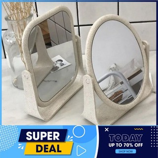 Gương để bàn - Gương để bàn - Gương 2 mặt để bàn thumbnail