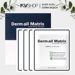 [GIÁ TỐT NHẤT] Mặt nạ thạch collagen dưỡng căng da cao cấp Derm all Matrix 35g