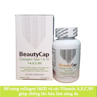 Viên uống Collagen Vitamin AEC B5 12000mg Mỹ nhập công ty - chính hãng 180 viên thumbnail