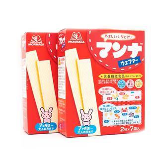 Bánh Xốp Morigana cho bé từ 9 tháng nội địa Nhật Bản (Date T8 11 12.2021) - 4902888200014 thumbnail