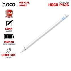 Bút cảm ứng Hoco PH26 đầu 1.5mm, sử dụng 30 giờ - Dành cho điện thoại, máy tính bảng