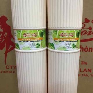 Xịt Phòng Đuổi Muỗi Hương Sả Chanh QUEENLOVE 350ml - XPSC thumbnail