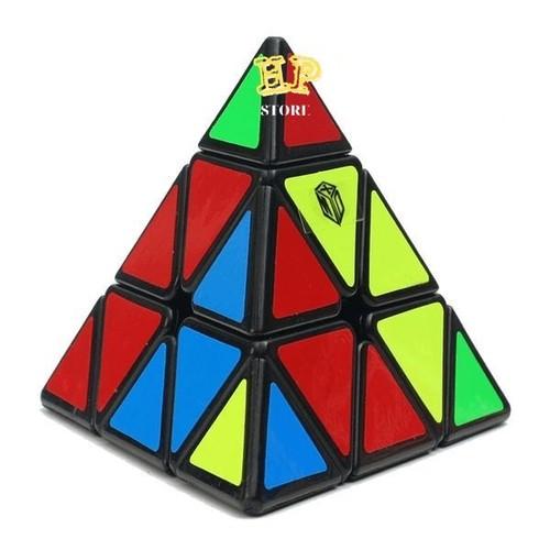 Rubik Tam Giác 3 Tầng - Rubik Biến Thể Hình Kim Tự Tháp - Cube King Turn The Cube- đồchơi xếp hình