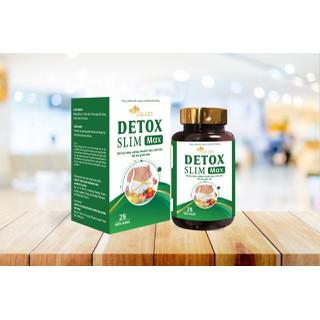 Viên Uống Giảm Cân Detox Slim Max- Đốt Cháy Mỡ Thừa Giảm cân, Giữ Dáng, Đẹp Da Một Cách Tự Nhiên, Bền Vững. - Detox Slim Max thumbnail