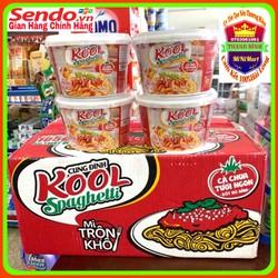 Mì trộn Kool Spaghetti Cung Đình thùng 12bát x105g x1260g