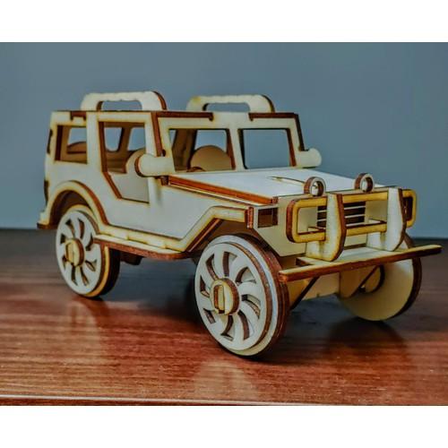 Oto đồ chơi, mô hình oto bằng gỗ trưng bày trang trí