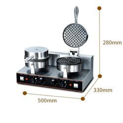 Máy chuyên làm các loại bánh tổ ong, bông lan, waffle khuôn đôi [ĐƯỢC KIỂM HÀNG] 43479889