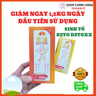 KETO DETOX - Sinh tố khử mỡ CHÍNH HÃNG-Keto detoxx công nghệ tiên tiến, giảm cân cực nhanh, an toàn sức khoẻ - KETODETOX thumbnail