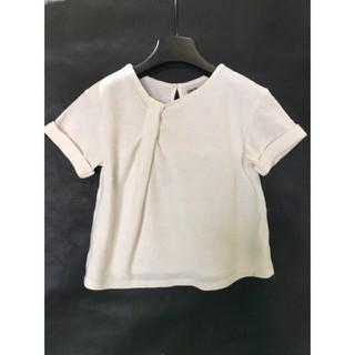 Áo cotton mềm tay ngắn cho bé gái - 6423326442 thumbnail