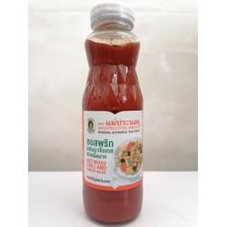 [340g] Tương cà ớt cay [Thailand] MAEPRANOM Hot Mixed Chili & Tomato Sauce (halal) (euf-hk)