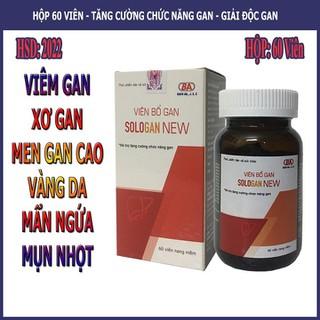 Viên Bổ Gan Sologan New (Hộp 60 Viên) - Sản phẩm của người Việt - cho người Việt. Hỗ trợ giải độc gan - Tăng cường chức năng gan - SLGN_1 thumbnail