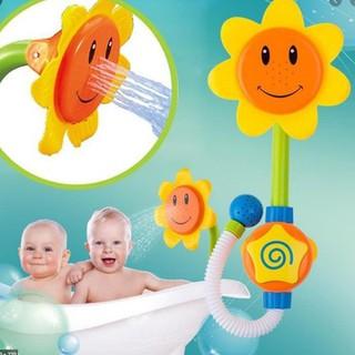 Vòi tắm hoa sen ông mặt trời cho bé- Vòi tắm thông minh- đồ chơi cho bé - vòi hoa sen thumbnail
