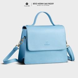 Túi đeo chéo nữ YUUMY YN83 (nhiều màu) 3 ngăn, túi có quai xách, da tổng hợp cao cấp.
