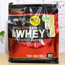 Whey Protein Gold Standard Bịch 2.56kg 80 servings Vị Chocolate + Vanila Bột tăng cơ sữa đạm Optimum Nutrition Gold Standard 100%