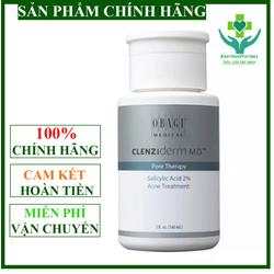 [OBAGI] Dung dịch BHA giúp giảm mụn, dầu nhờn OBAGl Clenziderm MD Pore Therapy 148ml - OBAGIBHA148ML