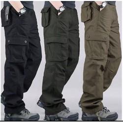 Quần dài kaki nam túi hộp cao cấp ht25