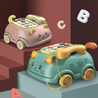 Điện thoại đồ chơi cho bé, đồ chơi phát nhạc cho trẻ từ 0-3 tuổi - giáo dục sớm - đồ chơi thông minh thumbnail
