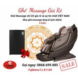 FUJIKIMA FJ-X1109 Ghế massage đỉnh cao công NHẬT - Gọi ngay 0868.699.885 nhận nhiều mã giảm giá SIÊU TO LỚN - Fujikima fj-x1109 thumbnail