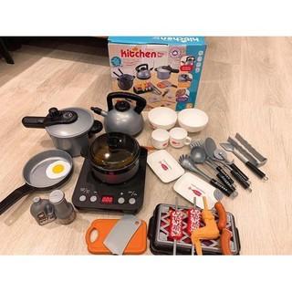 bộ đồ chơi nấu ăn - bộ đồ chơi nấu ăn cho bé - 0818 thumbnail