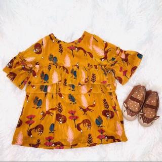 Váy in hình con cáo - 2024783476 4