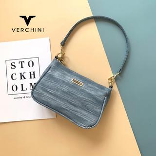 Túi xách thời trang Verchini viền nổi khoen tròn 2 tai. - 02-001-0012-0327 thumbnail