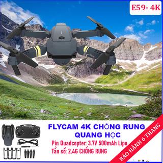 flycam giá rẻ e58 - Flycam mini có camera Ultra HD 4K cực khủng góc rộng 2.0MP 720p,Động cơ mạnh mẽ - flycam drone e58 thumbnail