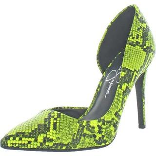Giày cao gót da rắn Simpsoon pumps - GIÀY SIMPSOON PUMPS thumbnail