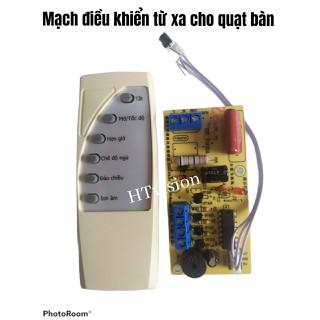 combo 2 mạch quạt điều khiển từ xa - 2 bộ mạch quạt bàn thumbnail