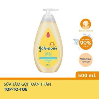Sữa tắm gội toàn thân cho bé Johnson s top to toe 500ml - Johnson Baby 500ml thumbnail
