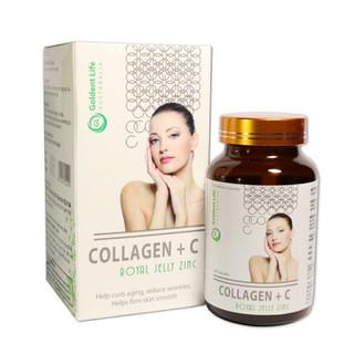 (Chi nh Ha ng) Collagen +c đẹp da sáng da hạn chế lão hoá da hiệu quả lọ 60 viên, sản phẩm chất lượng, đảm bảo an toàn sức khỏe người sử dụng, cam kết hàng giống hình - 8597410 thumbnail
