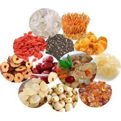 1 set - nguyên liệu nấu chè dưỡng nhan - nguyên liệu nấu chè - 12 nguyên liệu - 400g