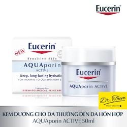 Kem Dưỡng Ẩm Eucerin AquaPorin ACTIVE 50ml - Cho Da Thường Và Da Hỗn Hợp