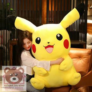 Gấu Bông Pikachu - Gấu Bông Pokemon khổng lồ - Gấu bông khổng lồ - Pikachu100 thumbnail