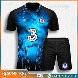 Bộ quần áo đá banh Chelsea Win - Đồ đá bóng 2021