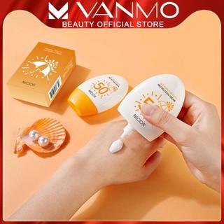 Kem chống nắng NICOR SPF50+ 60g bảo vệ da chống tia cực tím an toàn tuyệt đối cho da - 009099 thumbnail