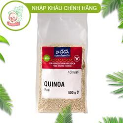 Hạt Diêm Mạch Trắng Hữu Cơ 500g Sottolestelle Organic Quinoa Real