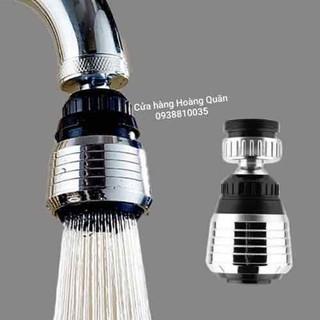 Đầu vòi tăng áp lực nước xoay 360 độ - ĐV002 thumbnail