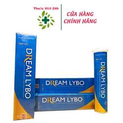 Viên Sủi DREAM LYBO - hỗ trợ tăng cân, tăng cường tiêu hóa, ăn ngon, ngủ ngon, tăng cường sức đề kháng - thuocviet24h