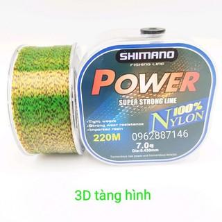 cước câu cá shimano 3D 200m tàng hình siêu bền - cước câu cá shimano 3D 200m tàng hình siêu bề thumbnail