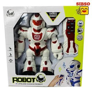 ĐỒ CHƠI ROBOT ĐIỀU KHIỂN TỪ XA MÀU ĐỎ DANCE ROBOT A0998 - SIBSO - A0998 thumbnail