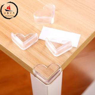 Miếng silicon bọc góc bàn bọc cạnh bàn ghế bảo vệ an toàn cho bé - Bịt góc cạnh sắc nhọn tránh cho bé va đập vào - 4683148541 thumbnail