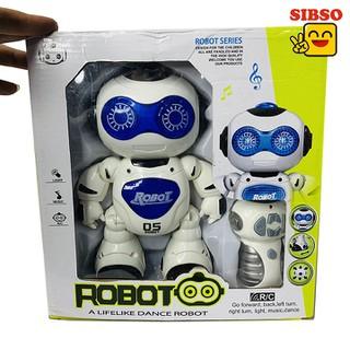 ĐỒ CHƠI ROBOT ĐỜI MỚI 05 ĐIỀU KHIỂN TỪ XA A0999 - SIBSO - A0999 thumbnail